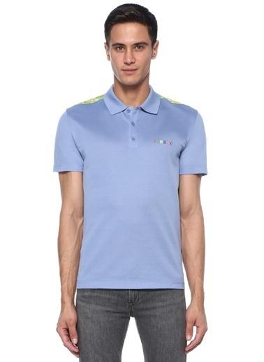 Versace Tişört Lacivert
